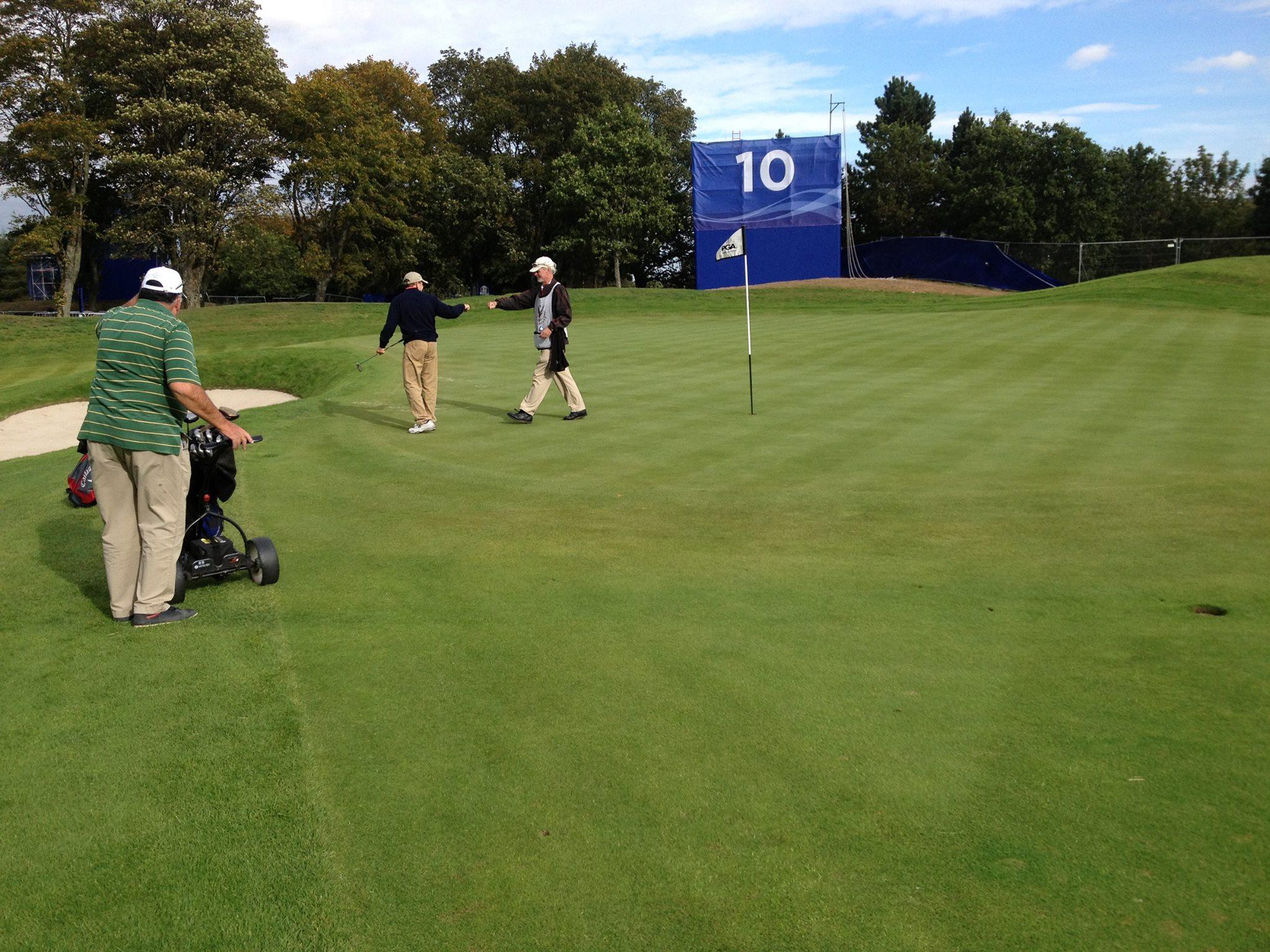 Gleneagles PGA Centenary 10th