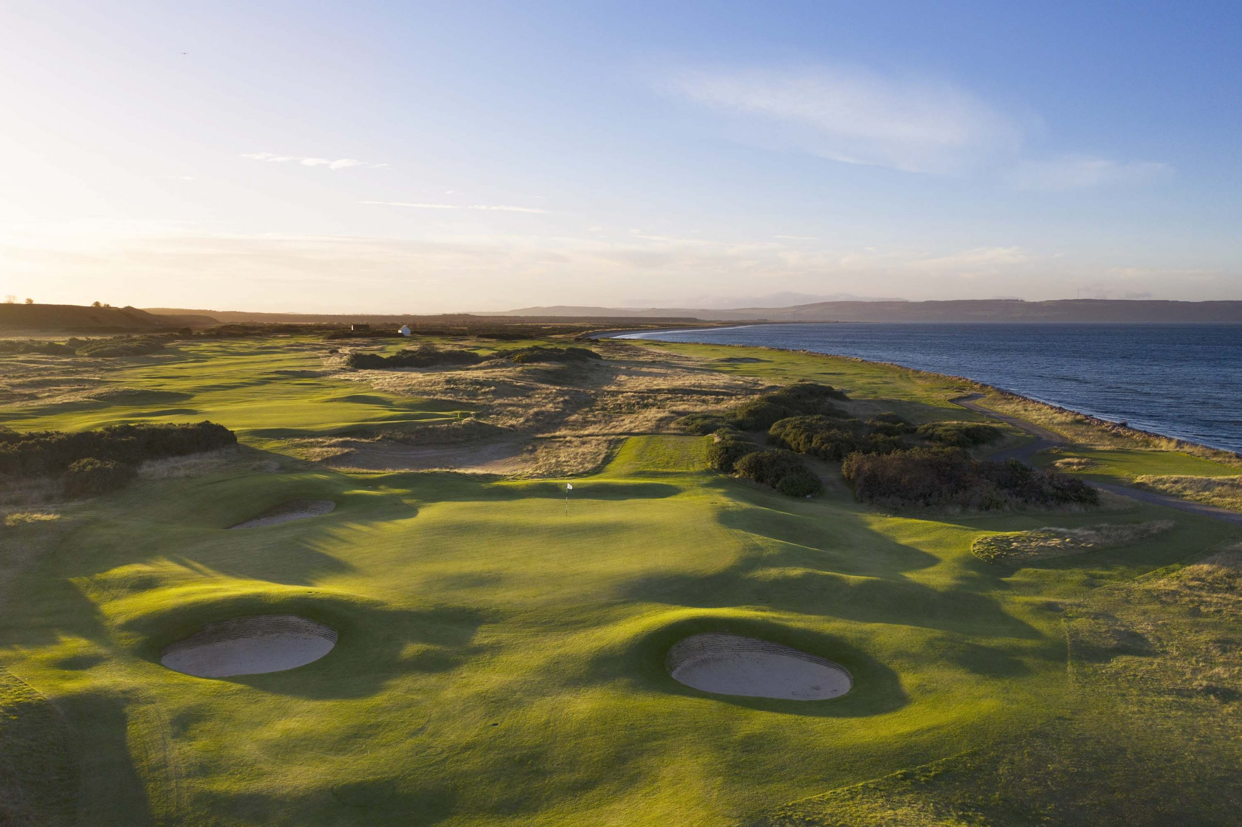2021 Nairn GC 6th approach