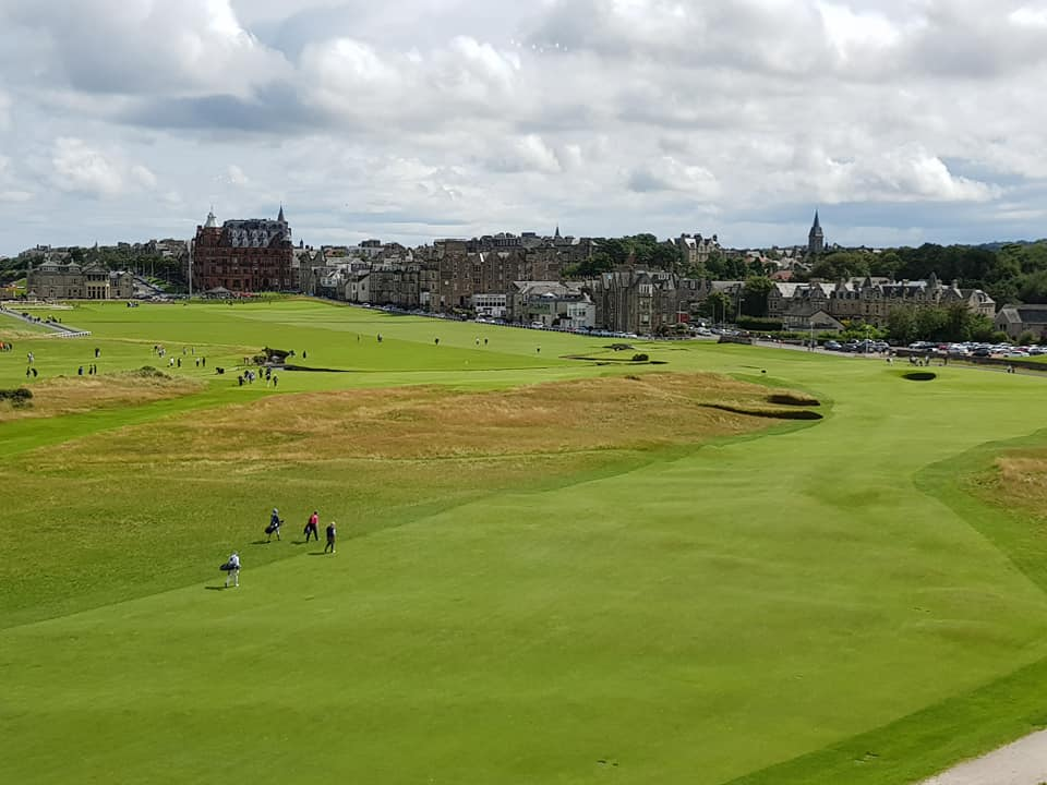 St Andrews 1st, 2nd, 17th and 18th Old Course
